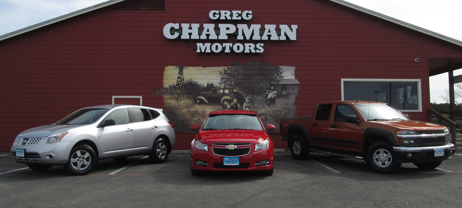 Austin Cedar Park Used Car Sales Greg Chapman Motor Sales